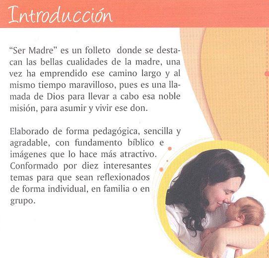 ¡Ser Madre¡