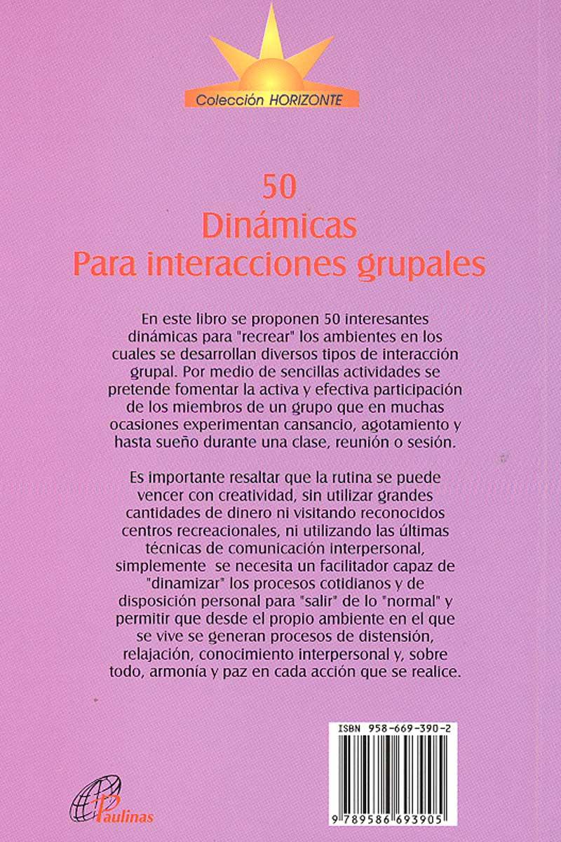 50 dinámicas para interacciones grupales