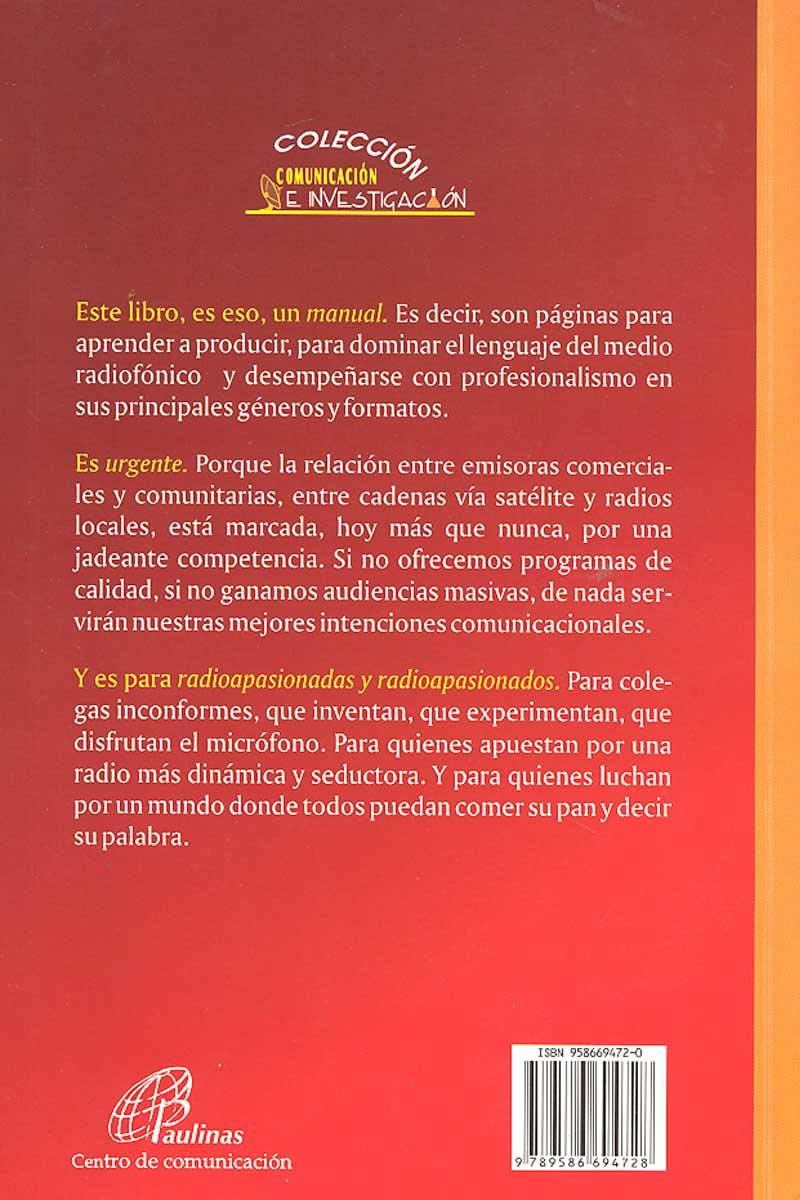 Manual Urgente para radialistas apasionados