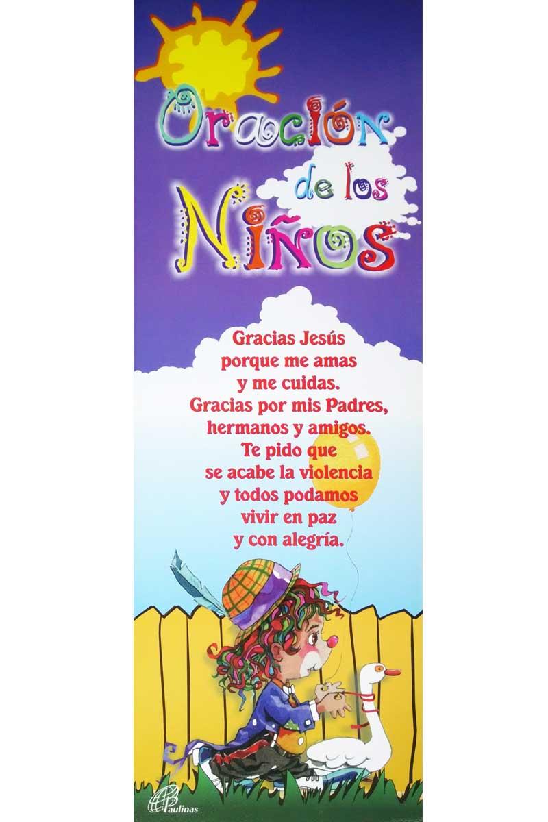 Afiche-Detalles-número 4-Oración de los niños