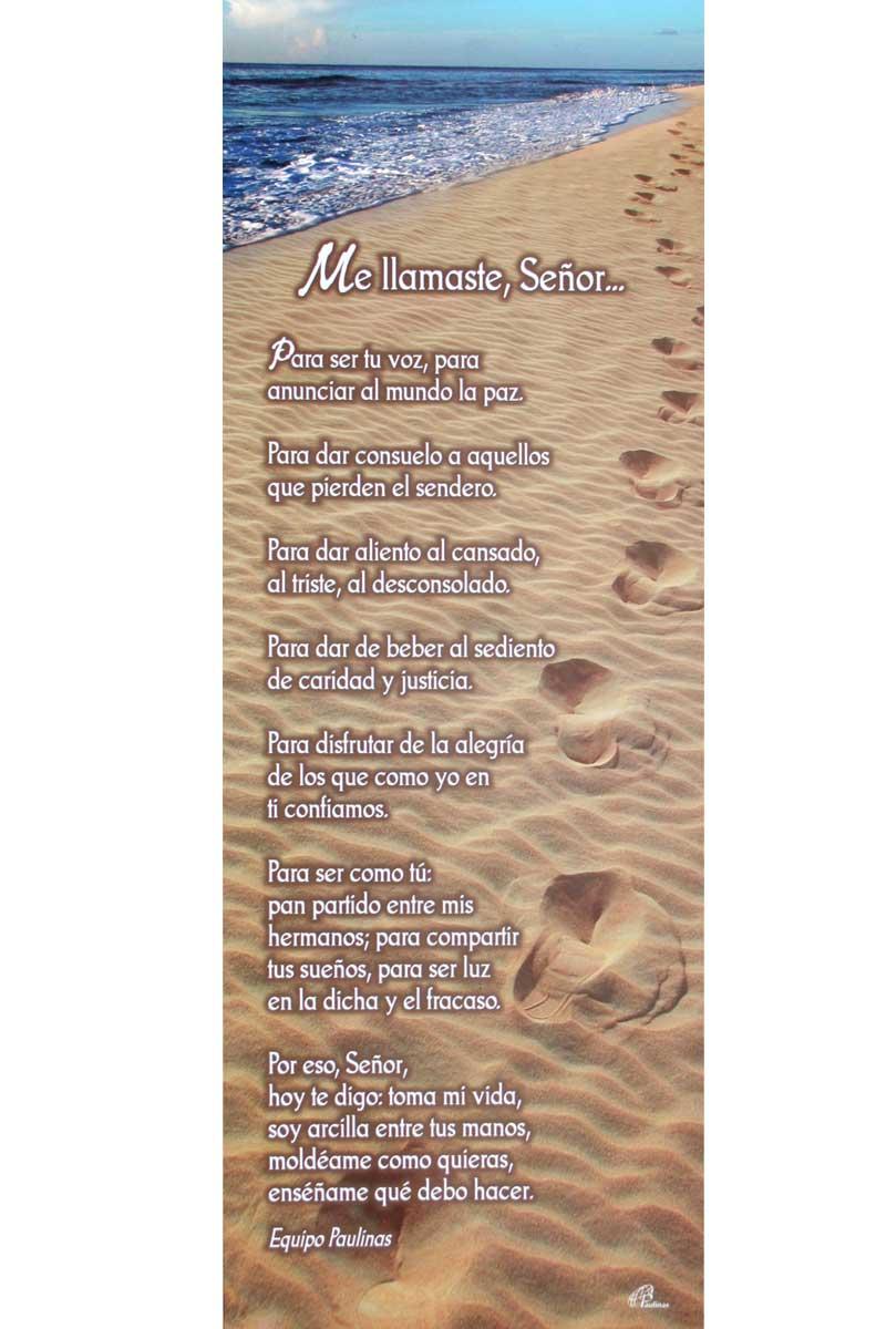 Afiche-Vida-número 15- Me llamaste, Señor