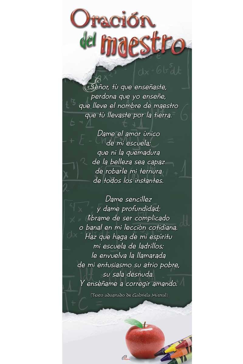 Afiche-Vida-número 17- Oración del Maestro