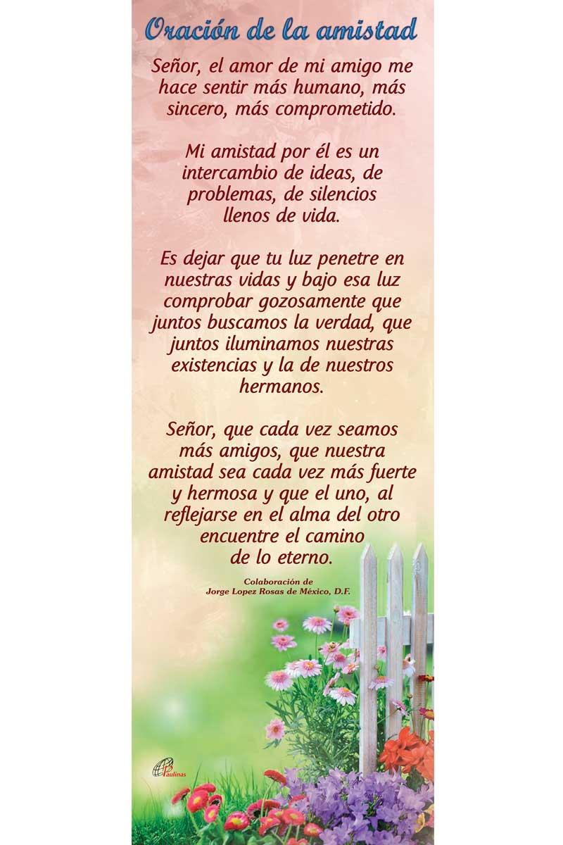 Afiche-Vida-número 20- Oración de la amistad