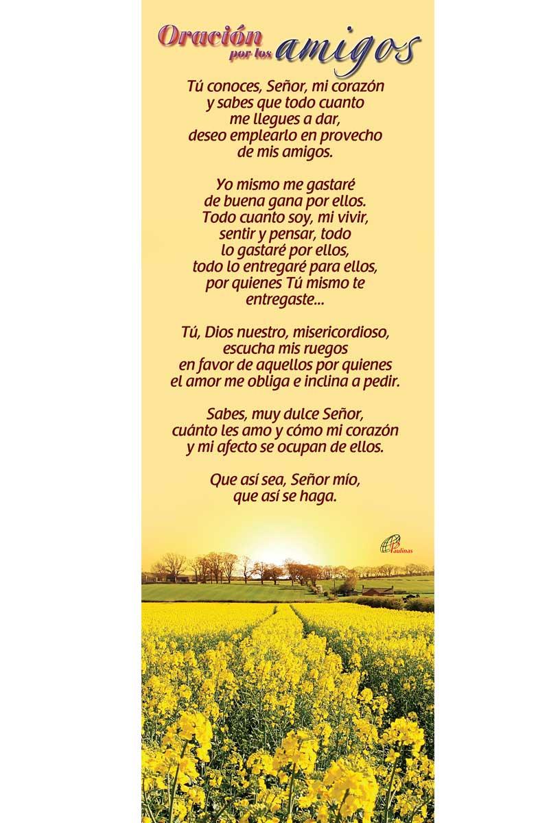 Afiche-Vida-número 21- Oración por los amigos