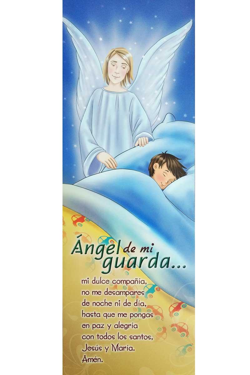 Afiche-Vida-número 4- Angel de mi guarda niño