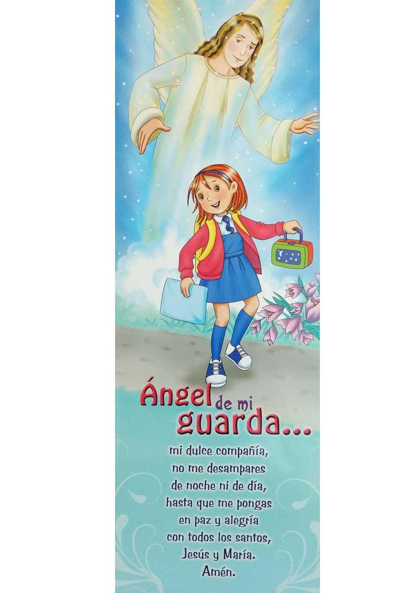 Afiche-Vida-número 5- Angel de mi guarda niña