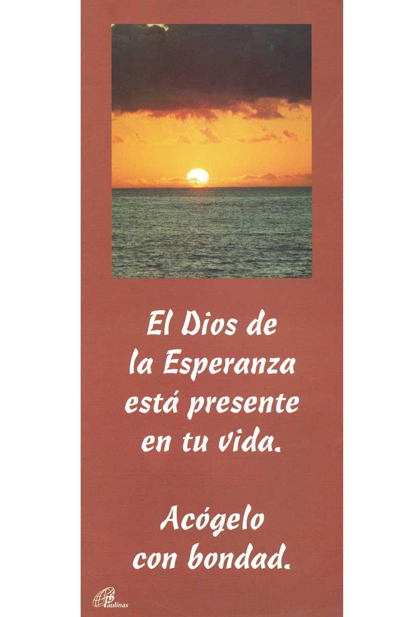 Afiche-Vitaminas-número 10- Dios de la esperanza