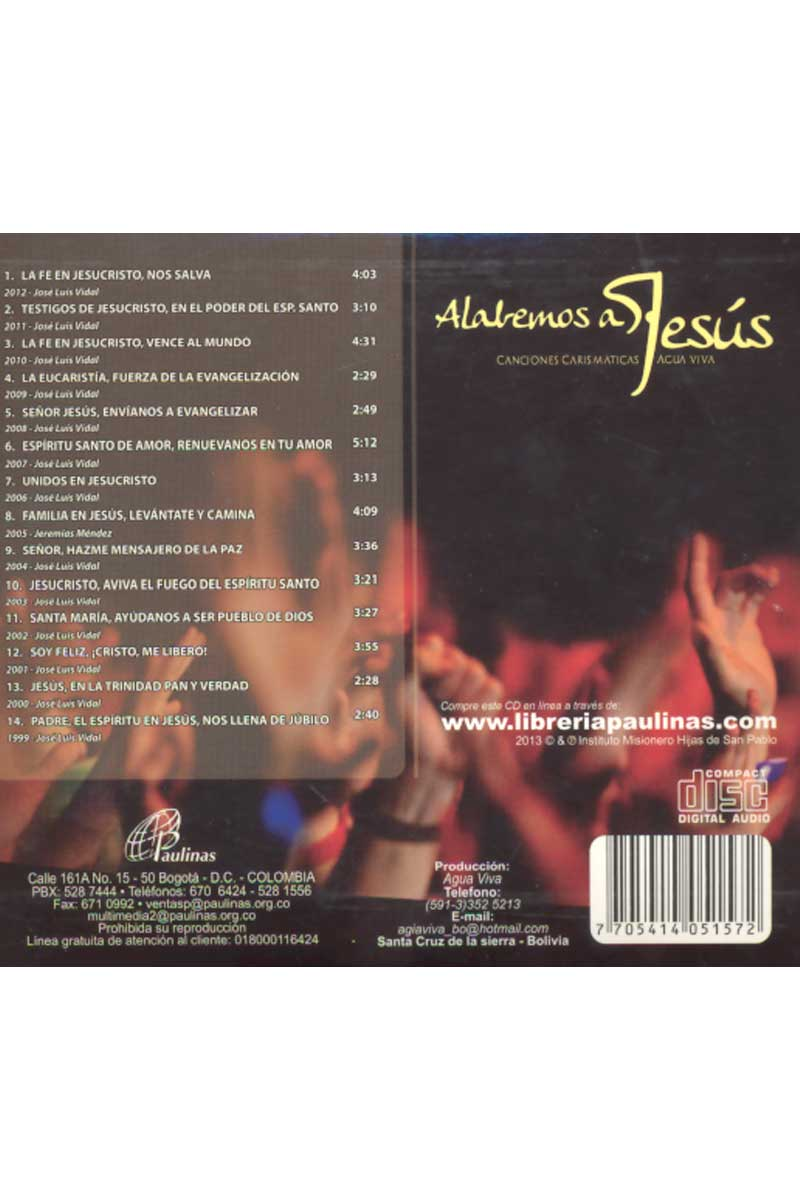 CD-Alabemos a Jesús