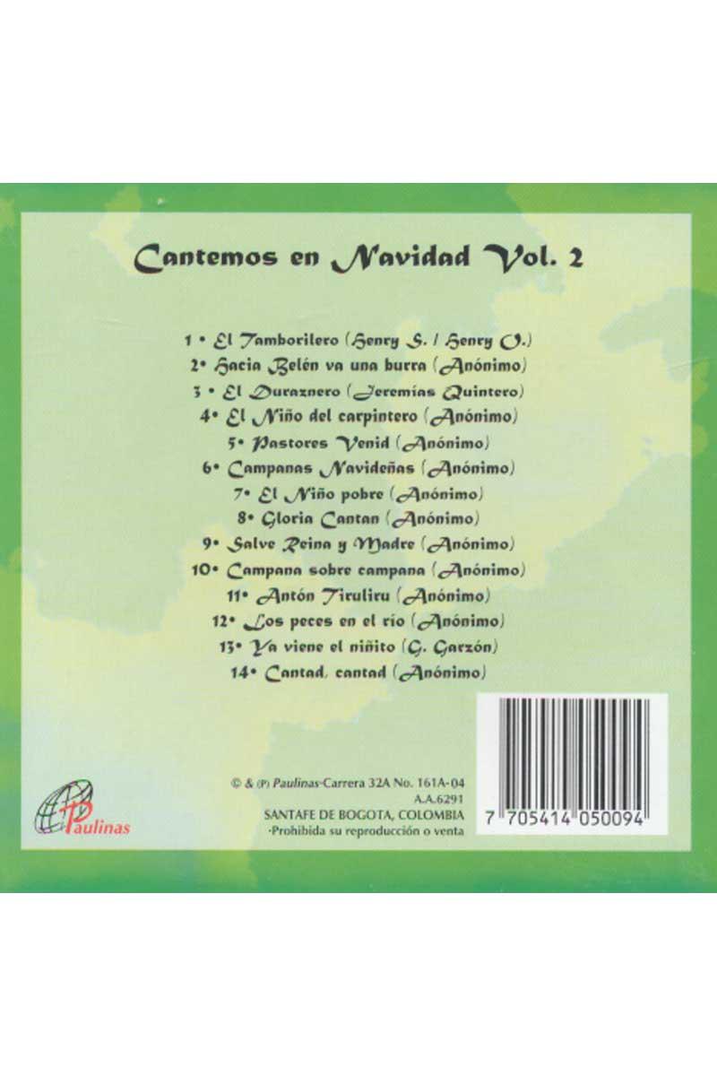 Cantemos en Navidad vol 2-CD