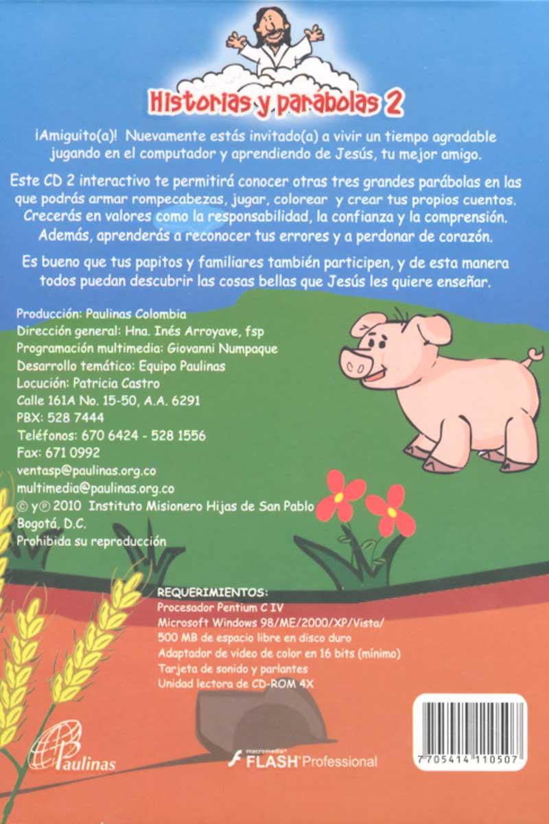 Historias y parábolas 2, versión bilingüe, español-inglés