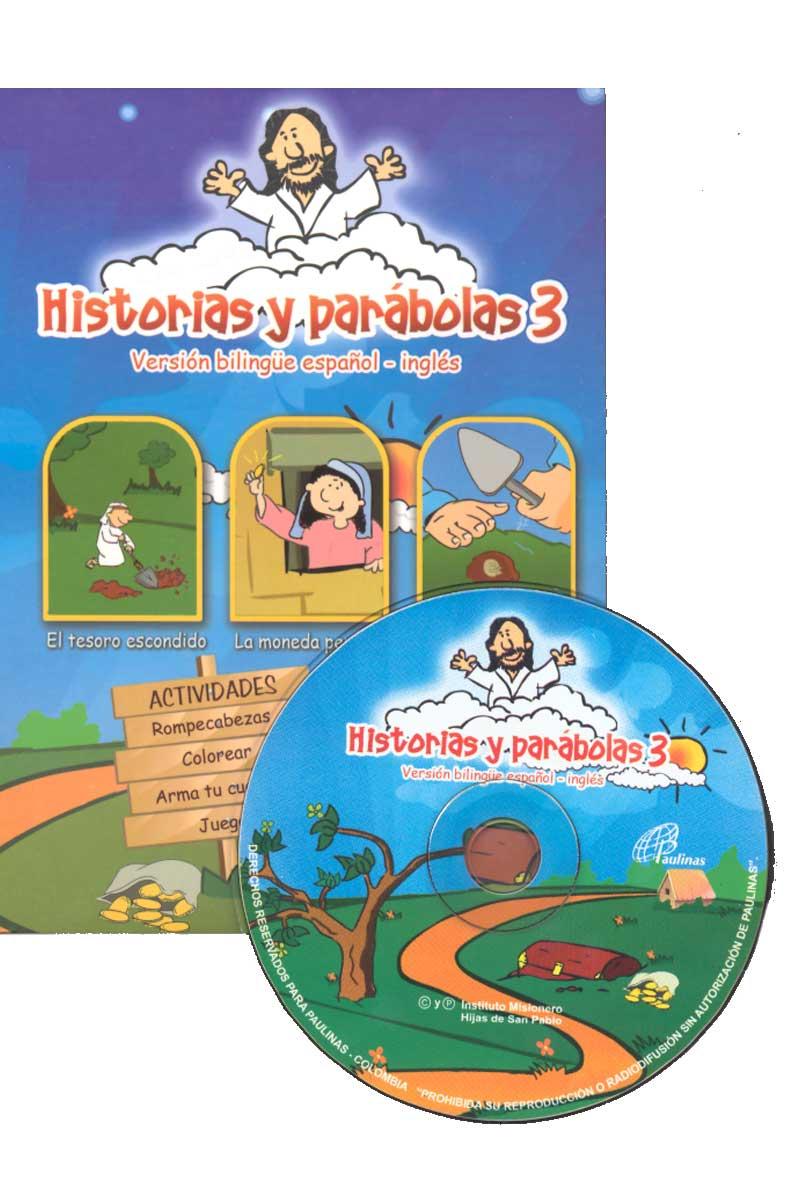 Historias y parábolas 3, versión bilingüe, español-inglés