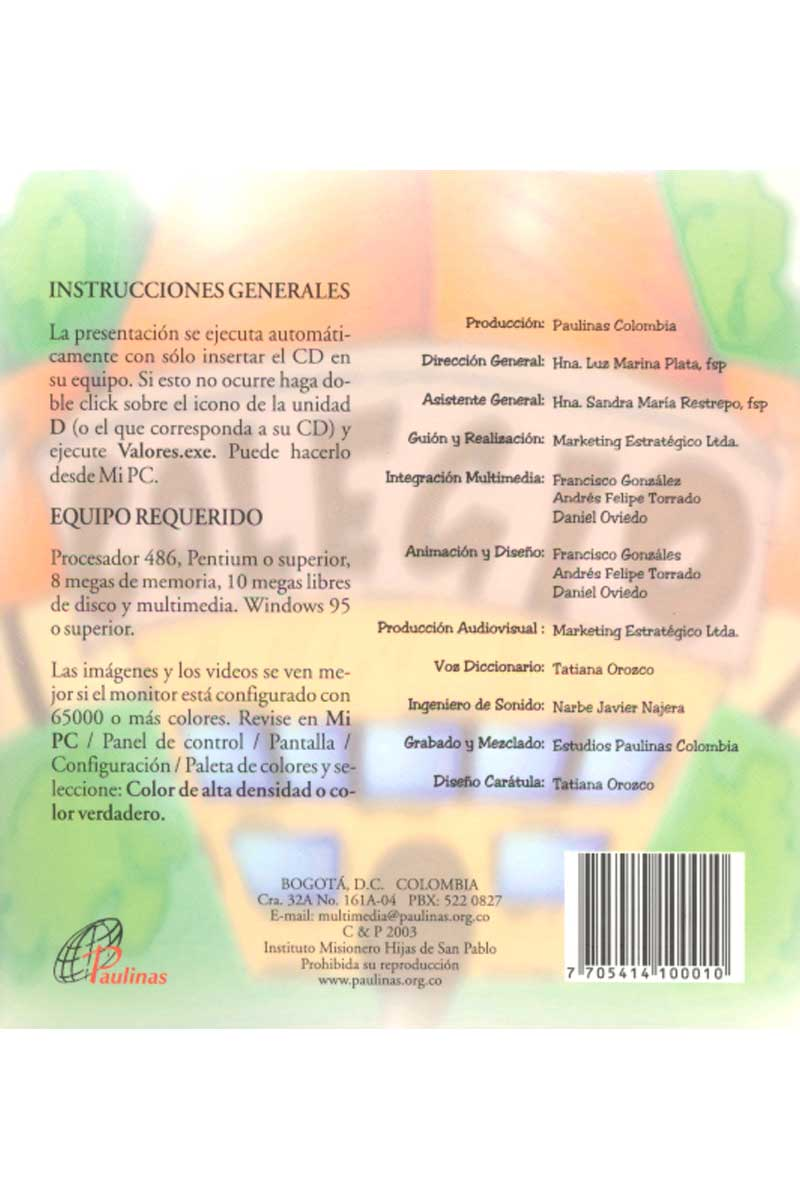 Sembrando Valores -CD-ROM