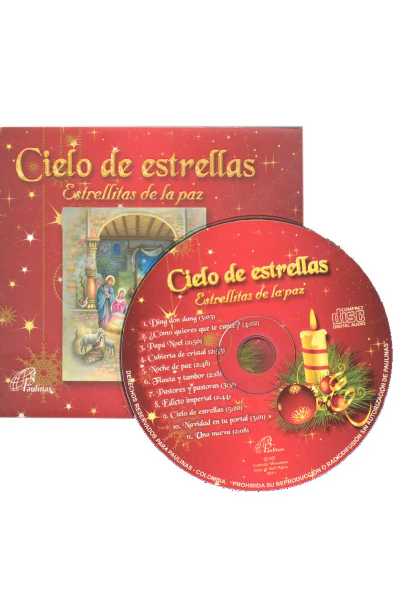 Cielo de estrellas, estrellitas de la paz -CD