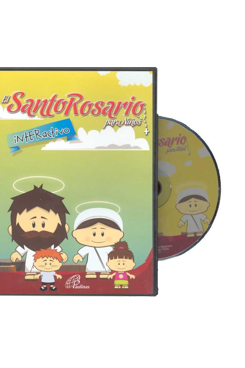El santo Rosario para niños -CD