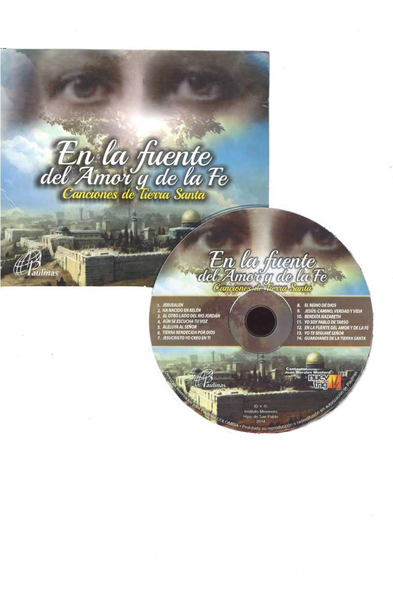 En la fuente del amor y de la fe - Canciones de tierra santa- CD