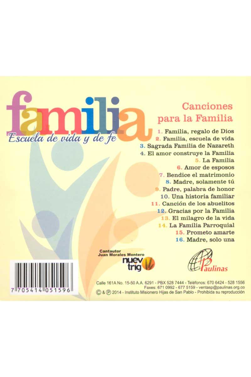 Familia. Escuela de vida y de fe