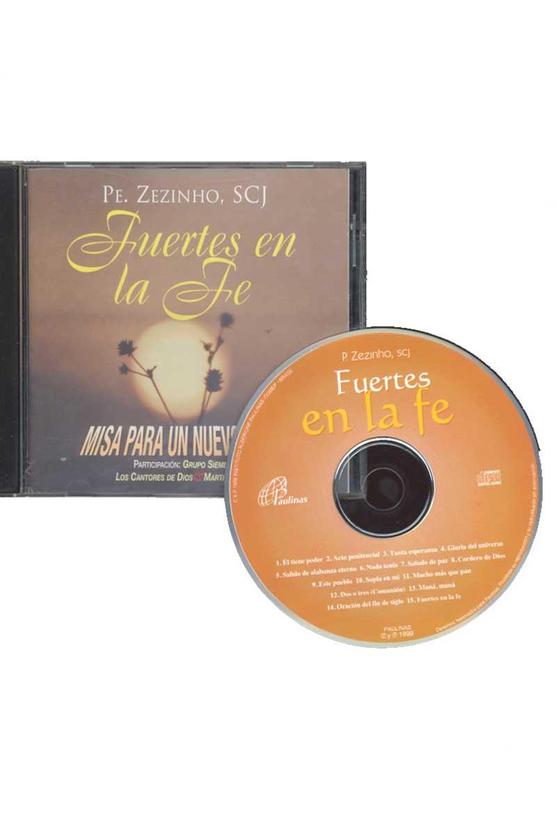 Fuertes en la fe -CD