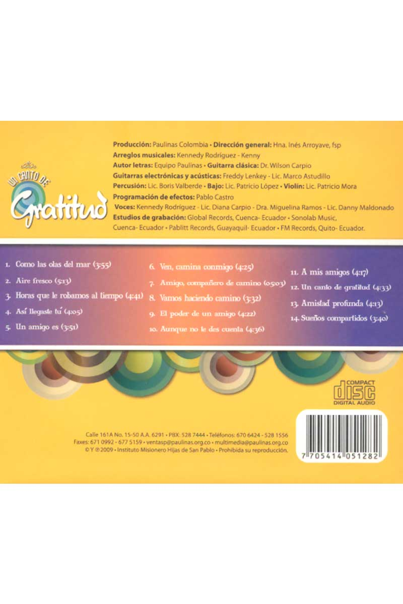 CD-Instrumental-Un canto de gratitud