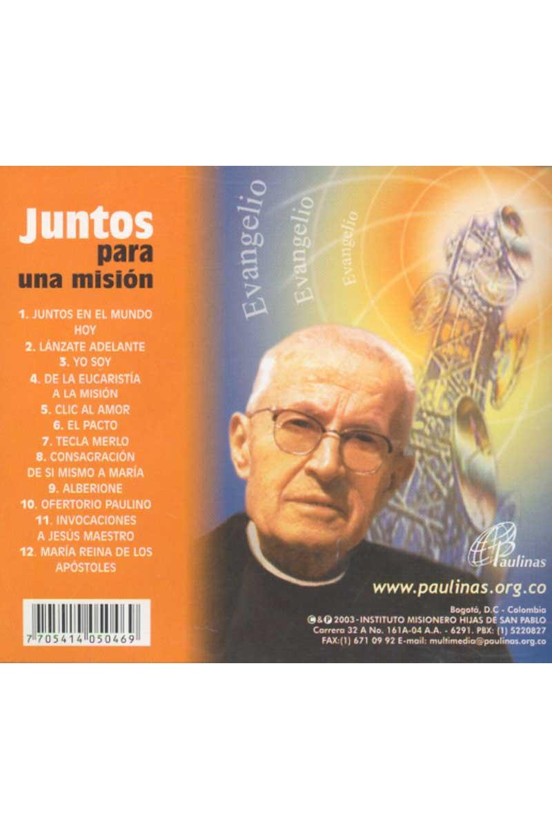 Juntos para una misión -CD