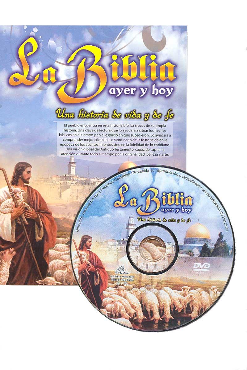 La Biblia ayer y hoy -DVD