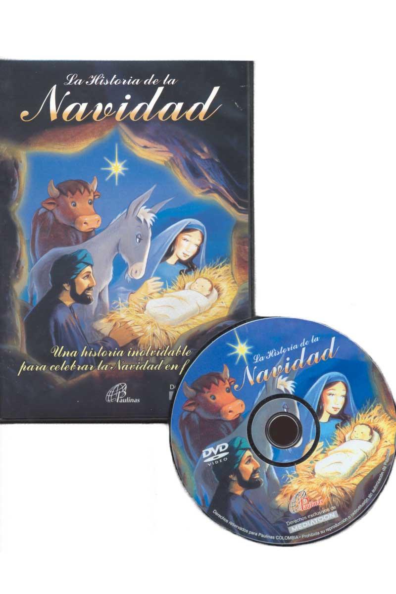 La historia de la navidad. Una historia inolvidable para celebrar la navidad en familia -DVD