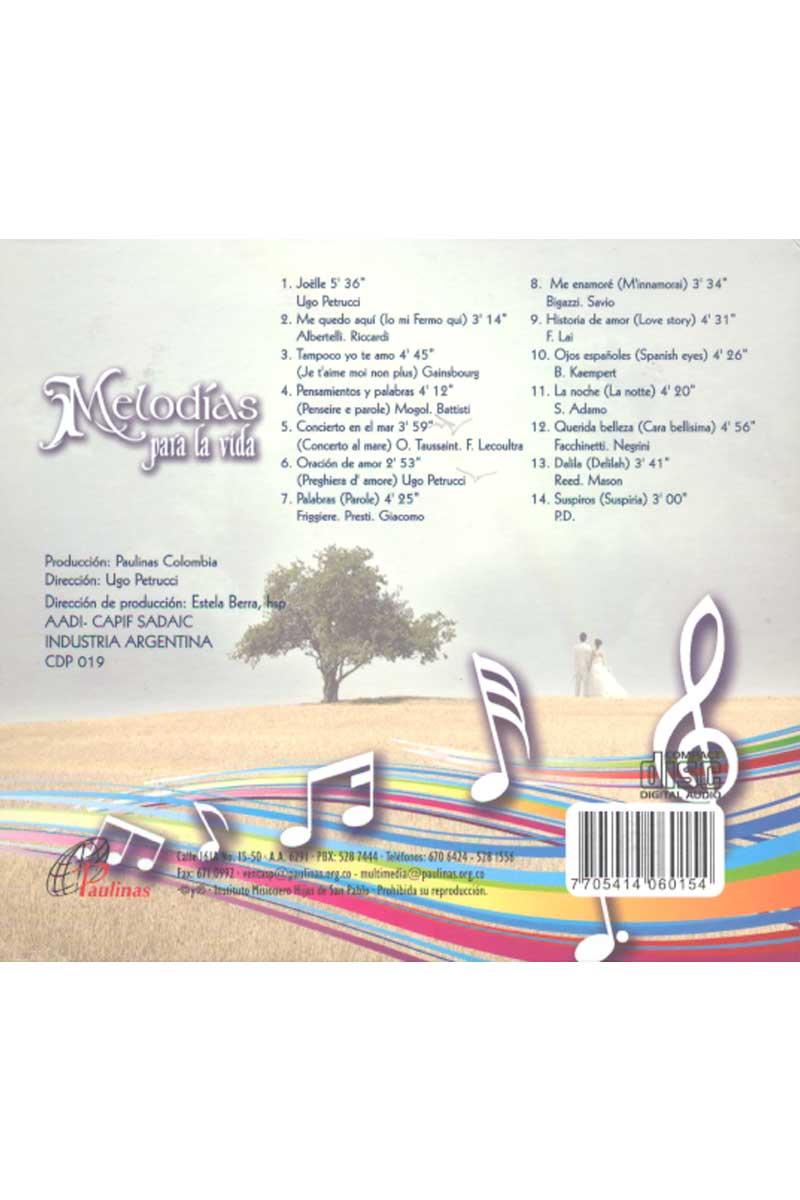 Melodías para la vida -CD 2