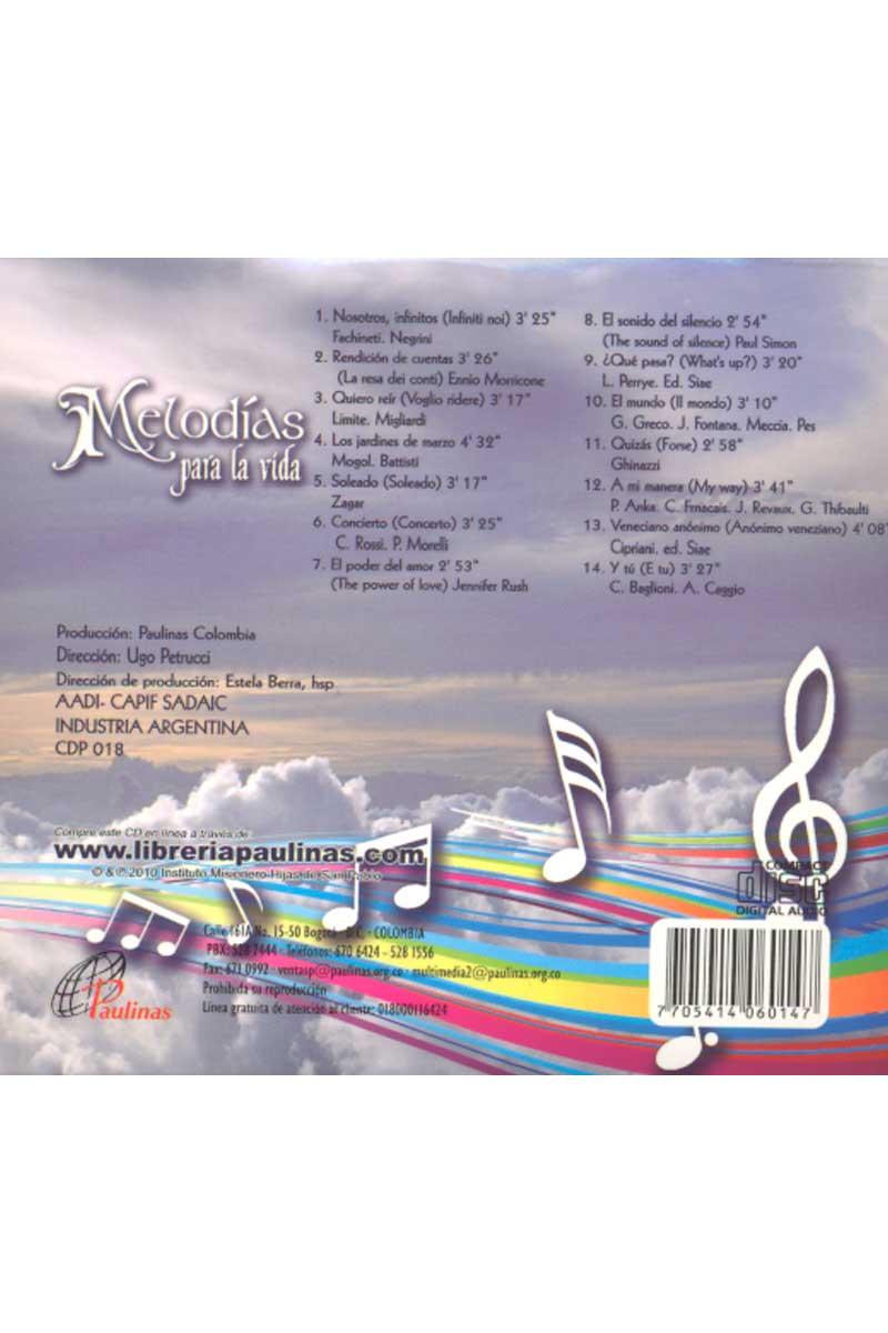 Melodías para la vida -CD 3