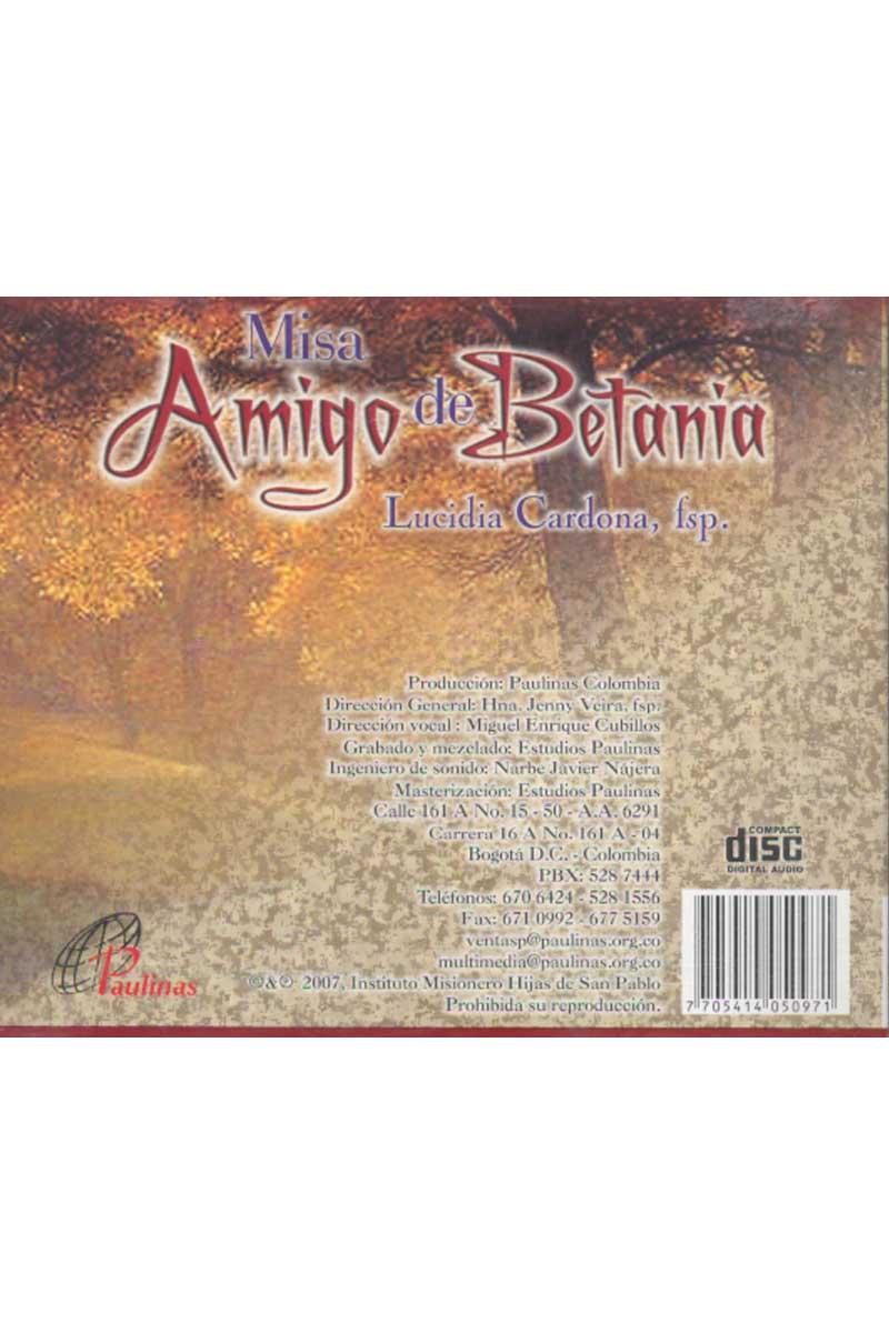 Misa amigo de Betania -CD