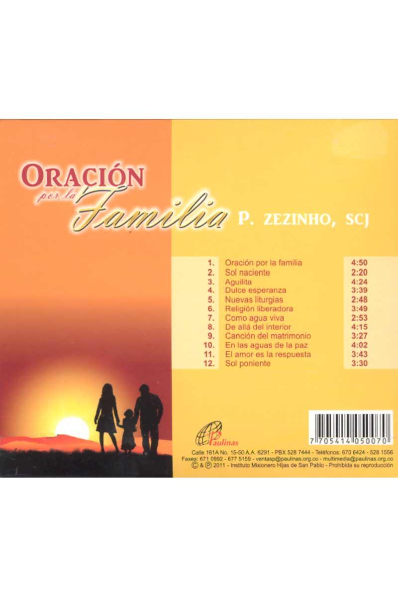 Oración por la familia -CD