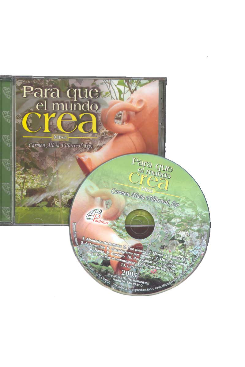 Para que el mundo crea - Misa -CD