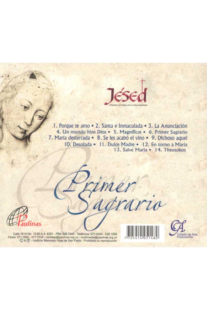 Primer Sagrario -CD