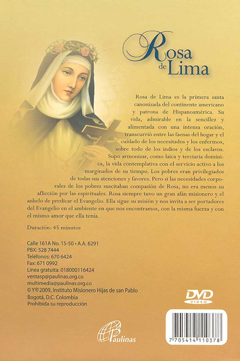 Rosa de Lima -DVD