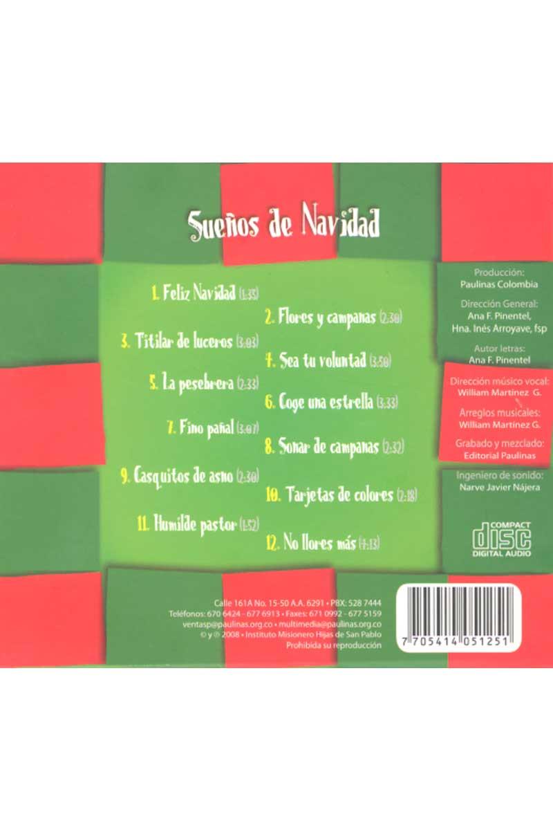 Sueños de Navidad -CD