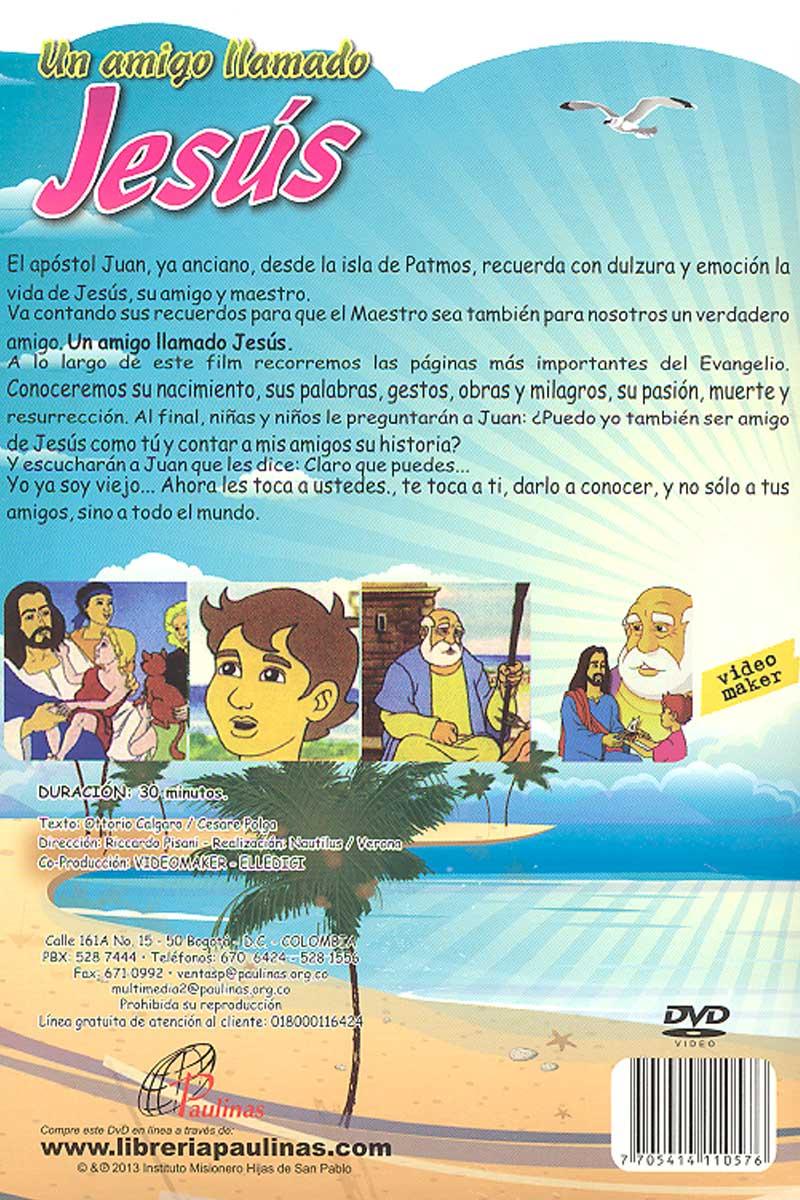 Un amigo llamado Jesús -DVD