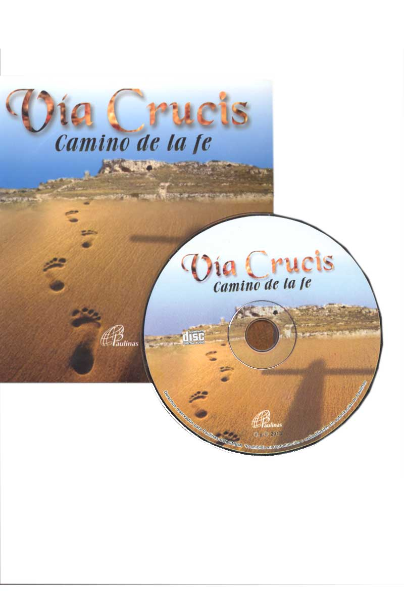 Via Crucis, camino de fe -CD