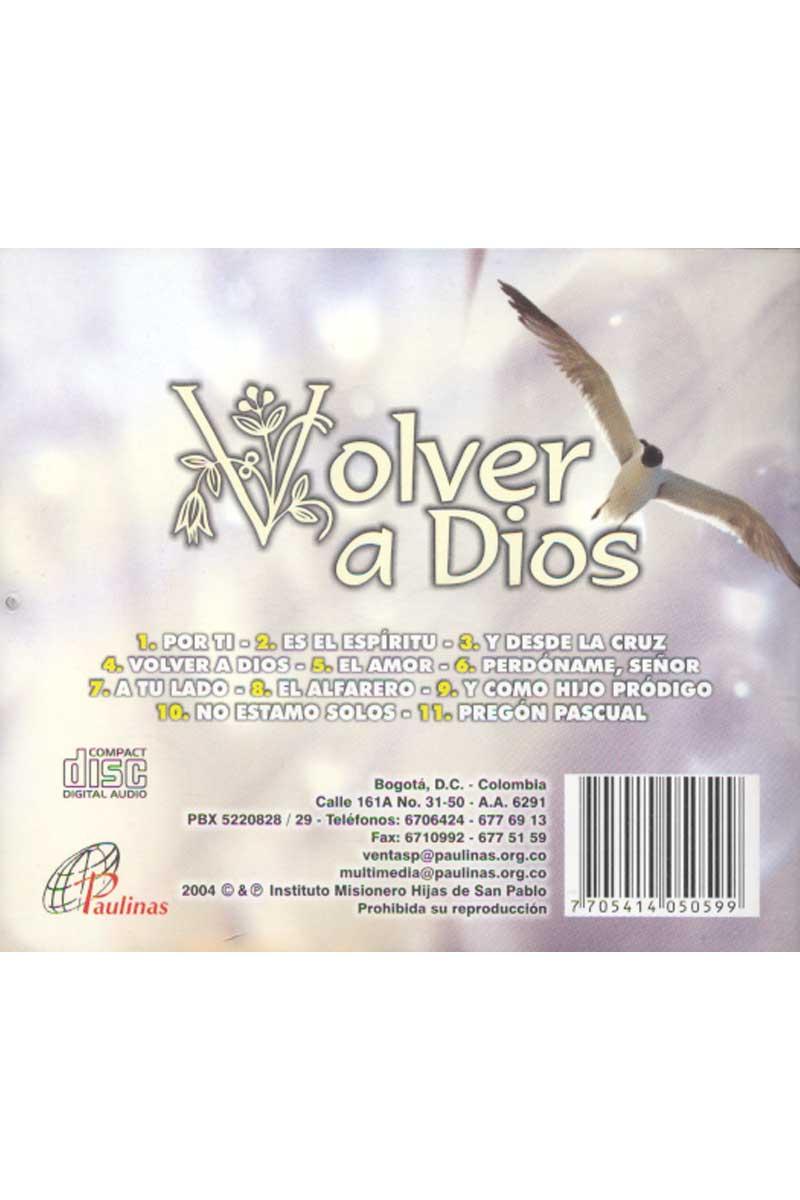Volver a Dios -CD