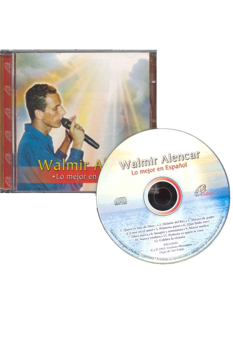 Walmir Alencar, lo mejor en español -CD