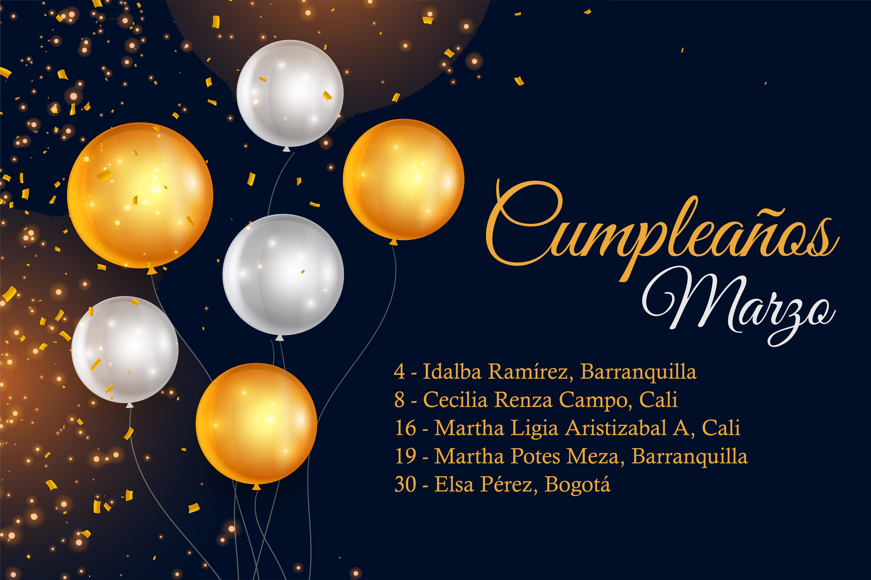 Cumpleaños Cooperadores - Marzo